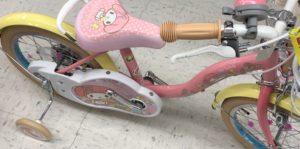 トイザらス マイメロの自転車