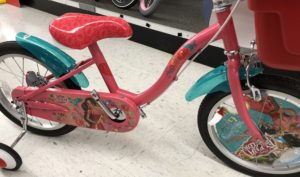 トイザらス エレナの自転車