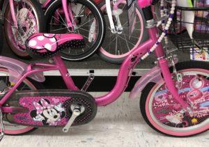 トイザらス ミニーちゃん自転車