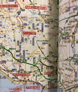まっぷる 家族でおでかけ 関西 地図